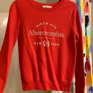 Red Abercrombie Sweater